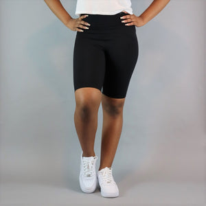 Ayan Biker Short - Black
