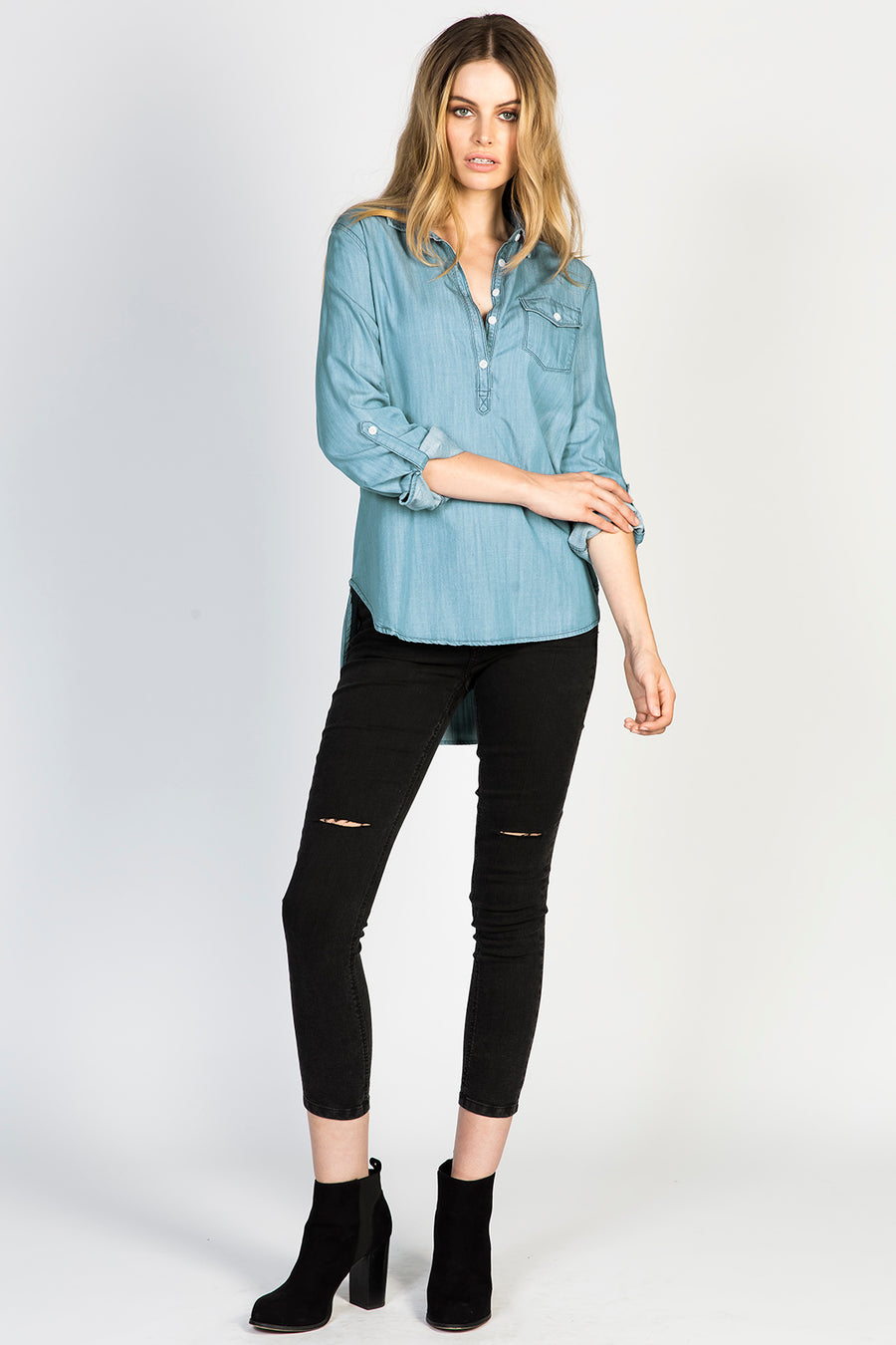 Shawna Denim Shirt