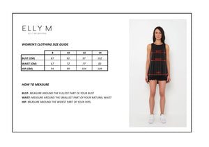 Elle Dress - ELLY M Australia