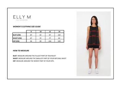 ELLY M SIZE GUIDE