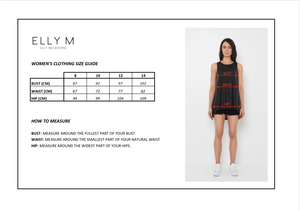 Mia Mini Dress - ELLY M Australia