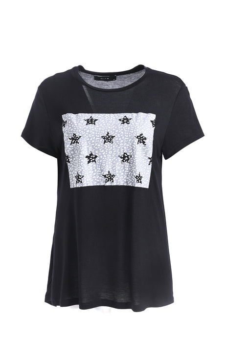 Placement Print Tee - ELLY M Australia