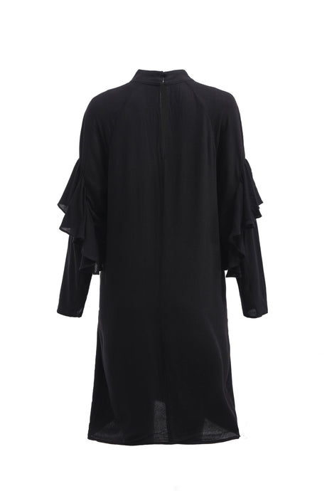 Franka Frill Sleeve Dress - ELLY M Australia