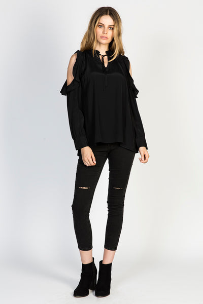 Herra Cold Shoulder Top