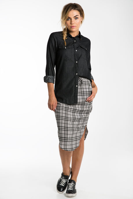 GEORGIA CHECK SKIRT - ELLY M Australia