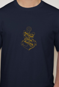 Men's Short Sleeve 'Anchor Coffee Roasters' T-shirt