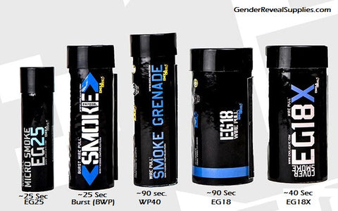 smoke bomb side by side comparison
