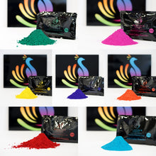 Load image into Gallery viewer, 100g packets authentic holi color powder color fun run colour powder party supplies