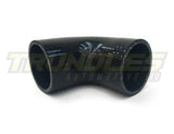 "2.5"" 90 Degree Silicone Elbow"