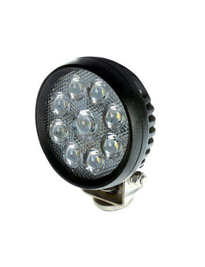 9 LED Work Light – Round