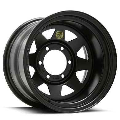 ROH 16x10 Black Trak 2 Rims