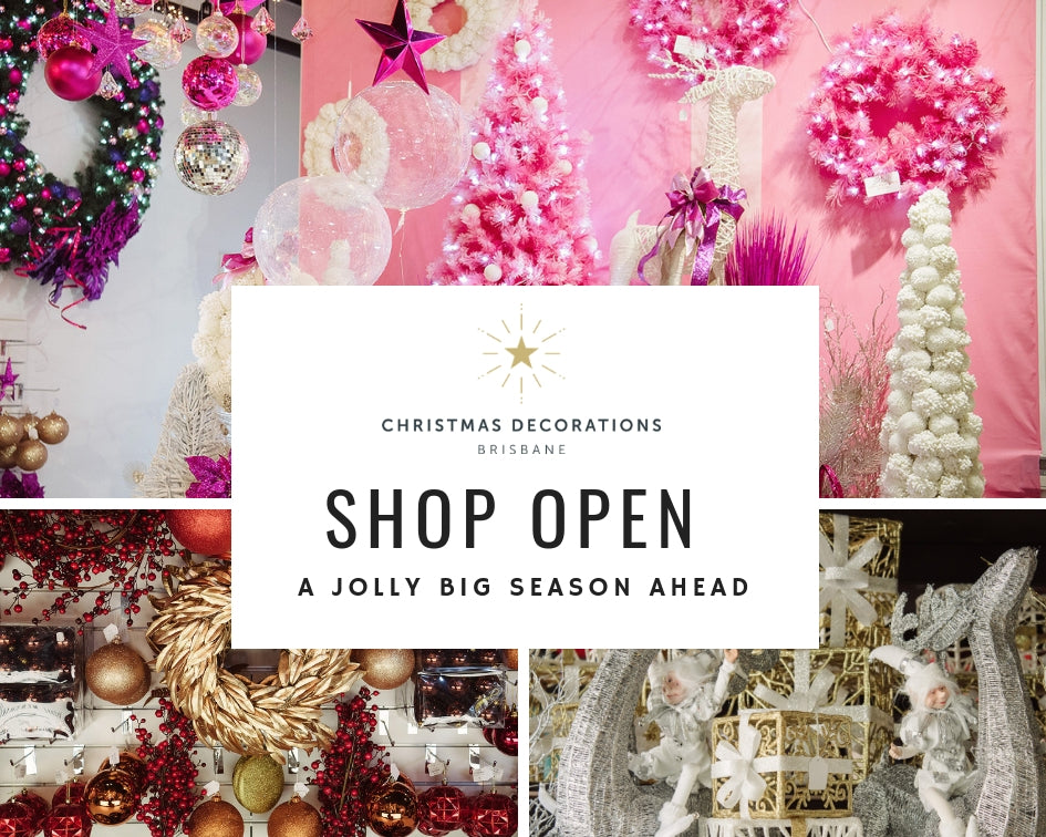 THE JOLLIEST CHRISTMAS SHOP NOW OPEN