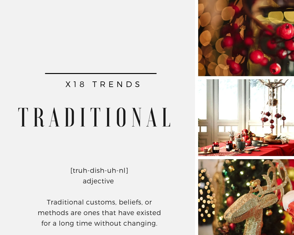 X18 Trends - TRADITIONAL