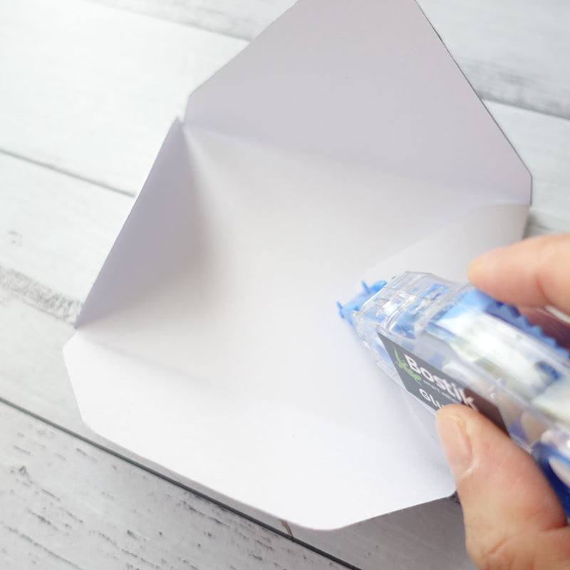 How to make an envelope with glue tape