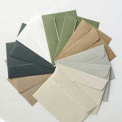 Assorted Colorplan envelopes bundle green brown wax sealing Australia