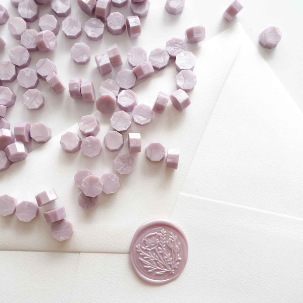 Pale light purple lilac lavender sealing wax Australia