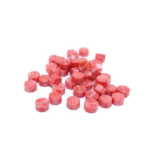100pcs sealing wax granules tablets beads salmon pink