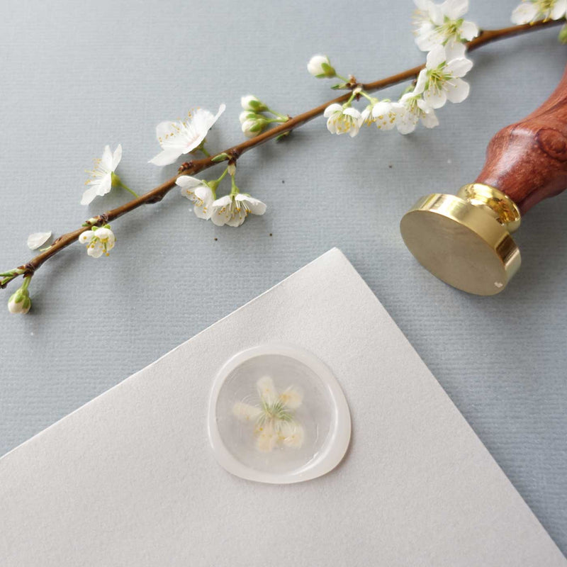 Semi transparent glue gun sealing wax sticks