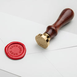 Custom own logo wax seal stamp australia