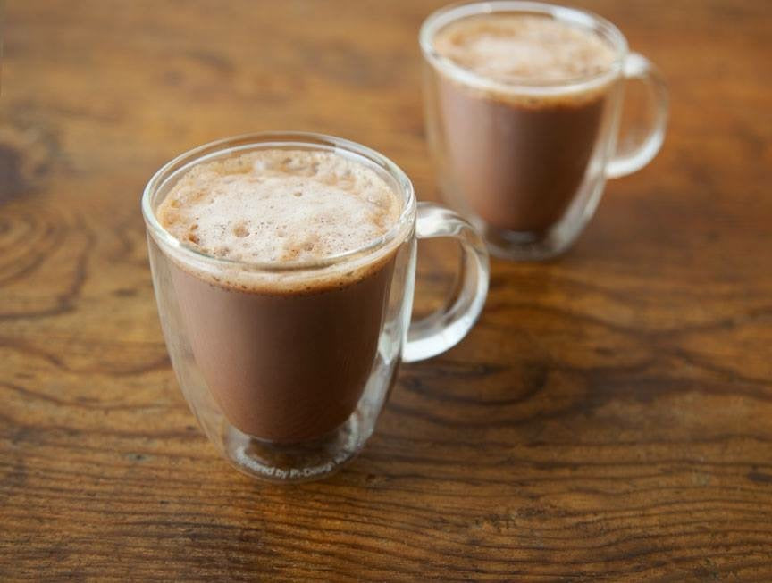Mex Hot Chocolate Set with Molinillo Rustico