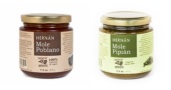 Mixed 6 Pack -Mole Poblano & Pipian
