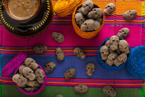 MEXICAN CHOCOLATE SKULLS