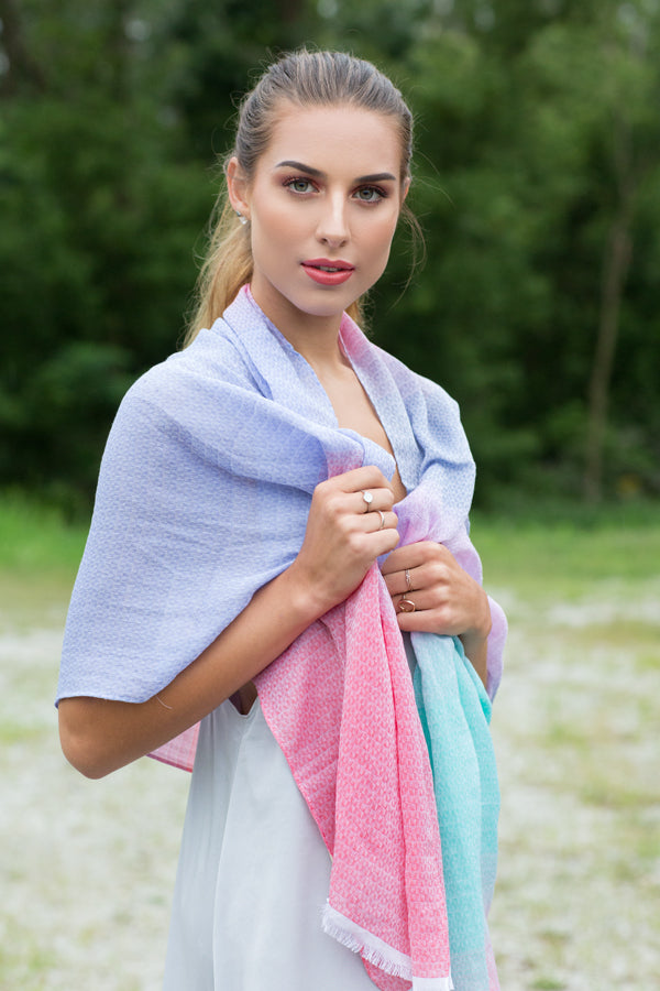 Cotton & Silk Scarves