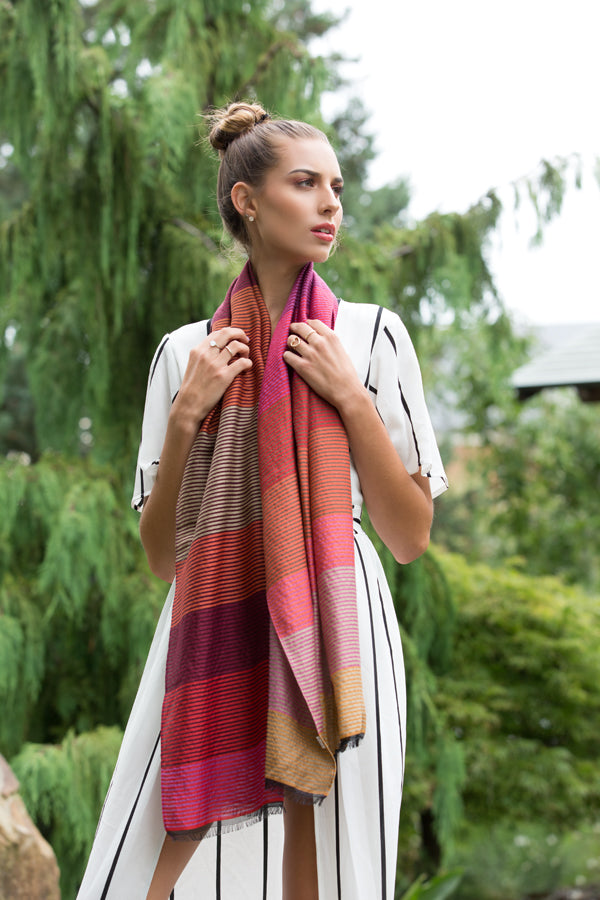 Wool, Cotton, & Silk Scarves