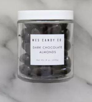 Dark Chocolate Covered Almonds (8oz.)