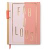 "HARDCOVER, WORDTOSS ""FABULOUS"" JOURNAL"