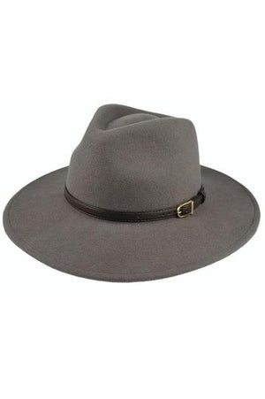 Grey Panama Hat