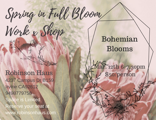 Spring in Full Bloom Workshop