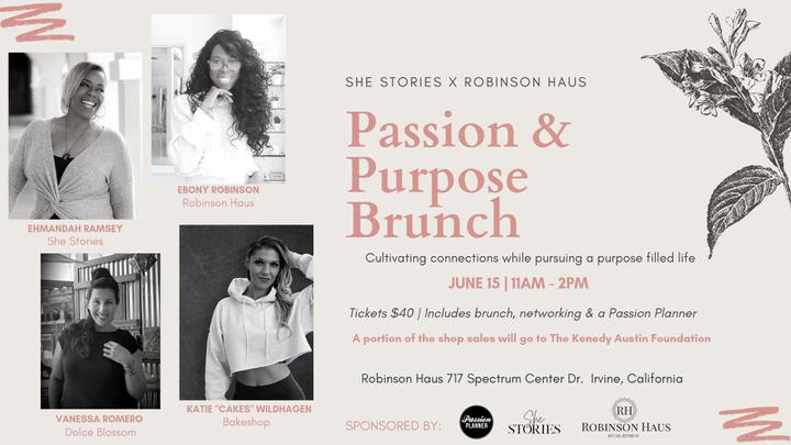 Passion & Purpose Brunch