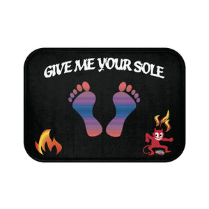 Devil Feet Bath Mat