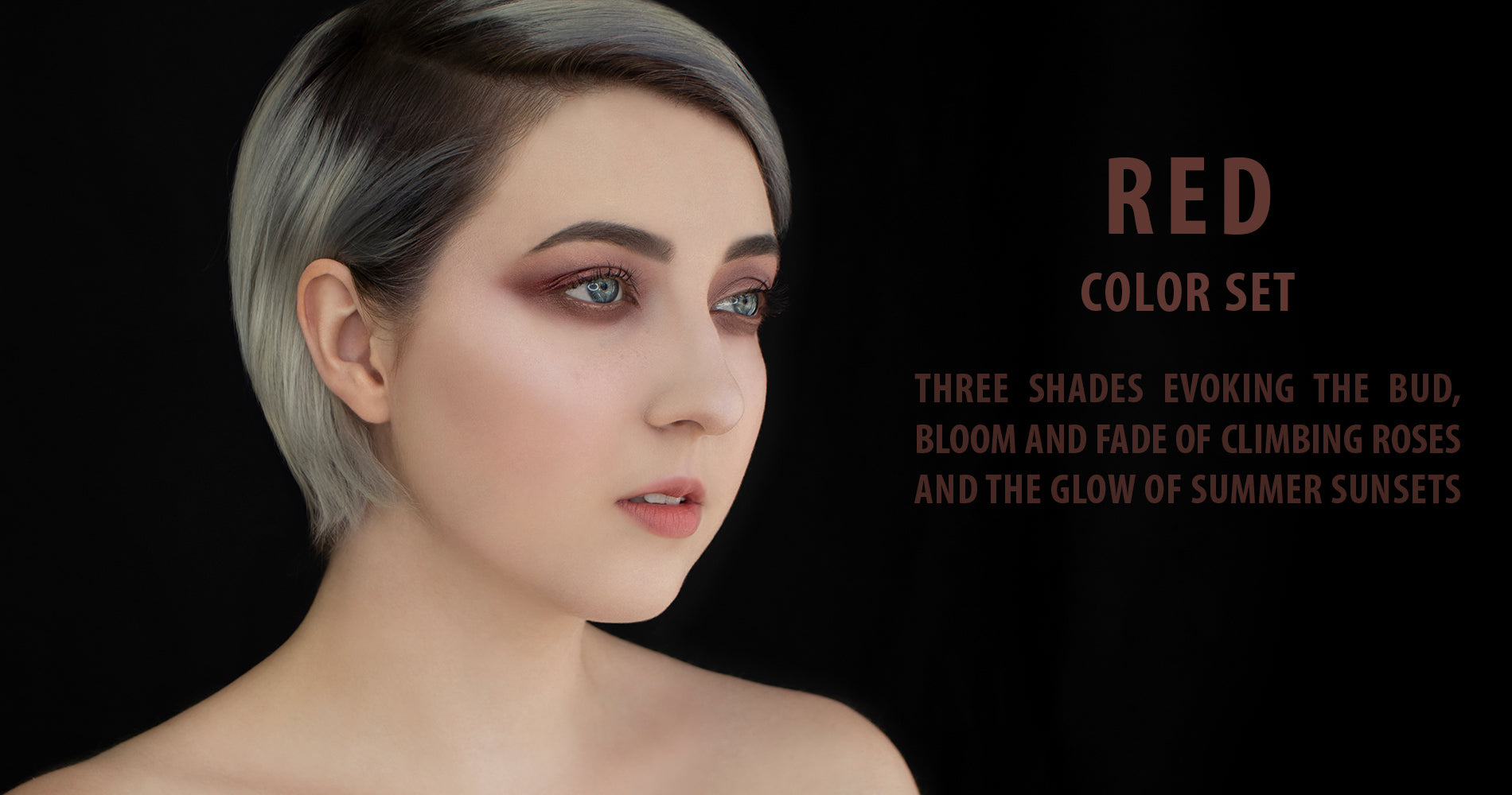Rituel de Fille Red Color Set - Anima, Viscera and Exuviae Ash and Ember Eye Soot