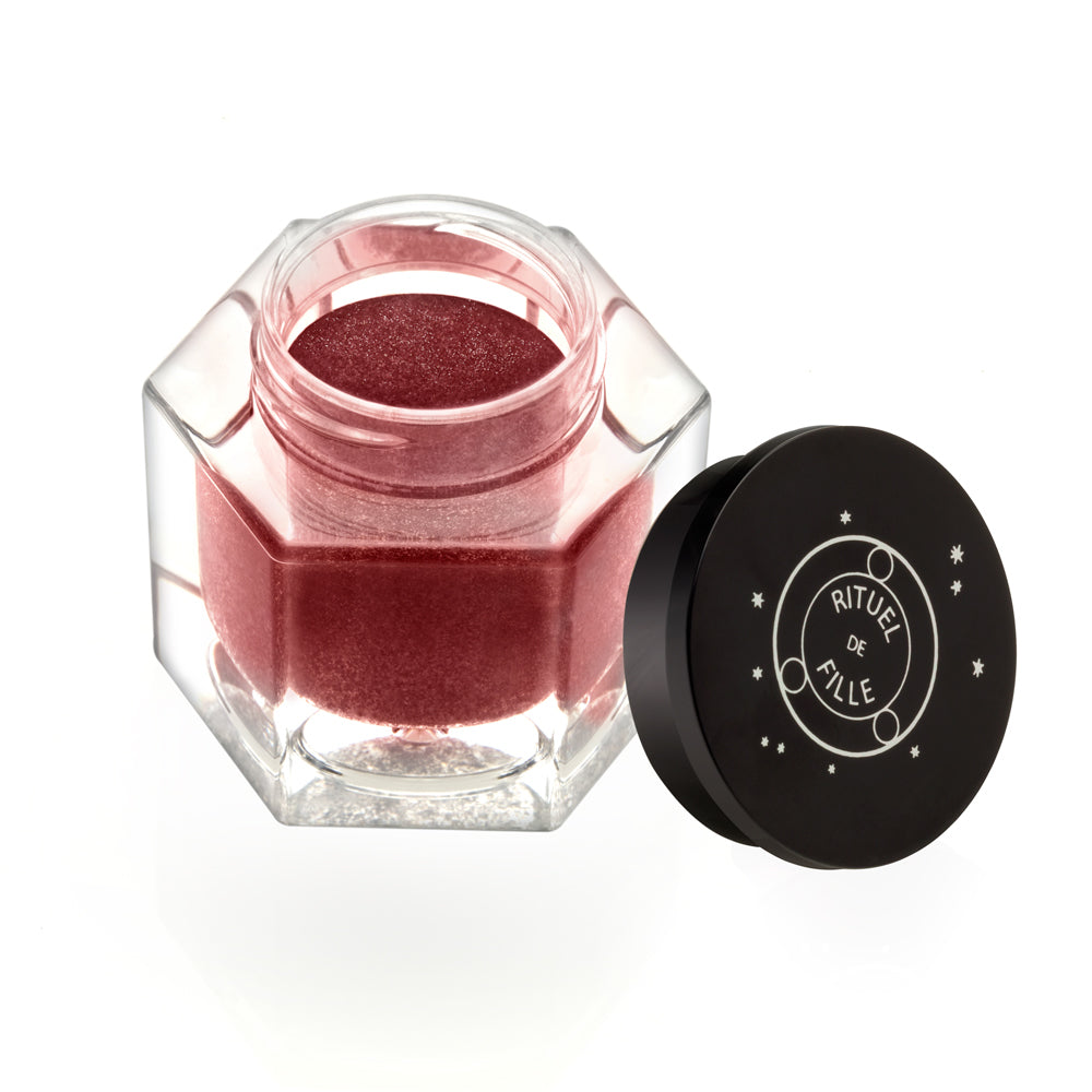 Viscera Ash and Ember Eye Soot natural cruelty free red eyeshadow