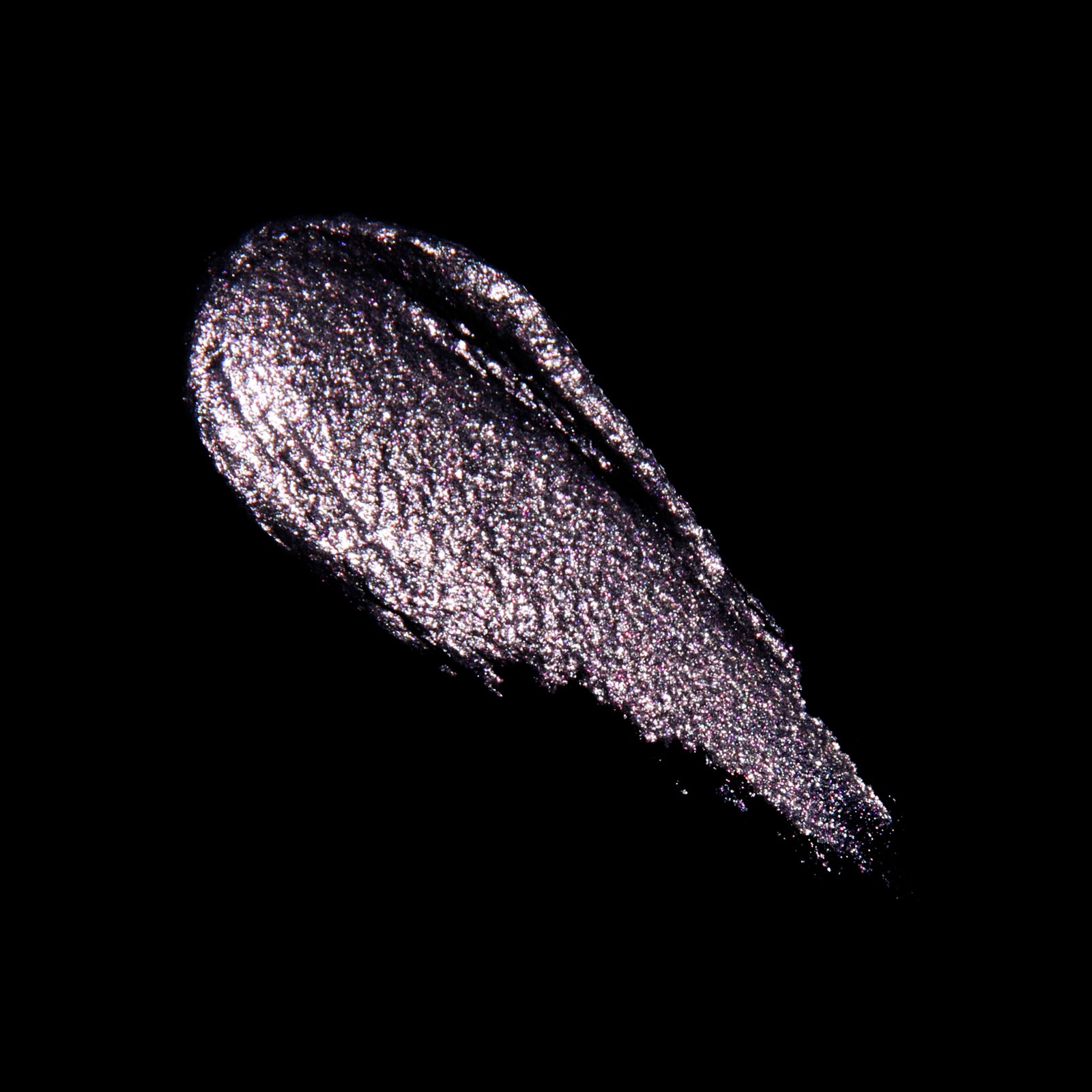 Cassiopeia Celestial Sphere Eye Soot iridescent natural glitter cream eyeshadow swatch