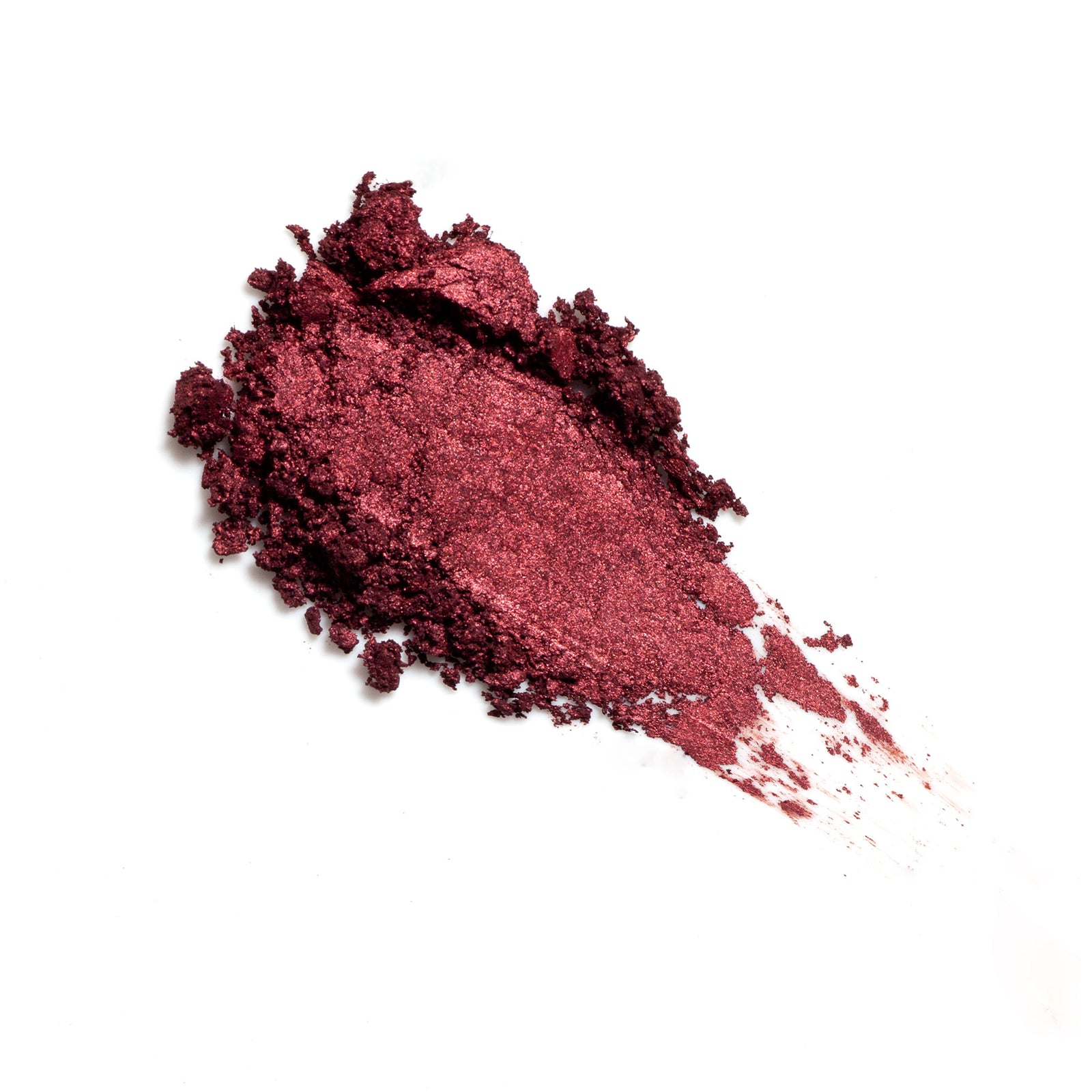 Viscera Ash and Ember Eye Soot natural cruelty free red eyeshadow swatch