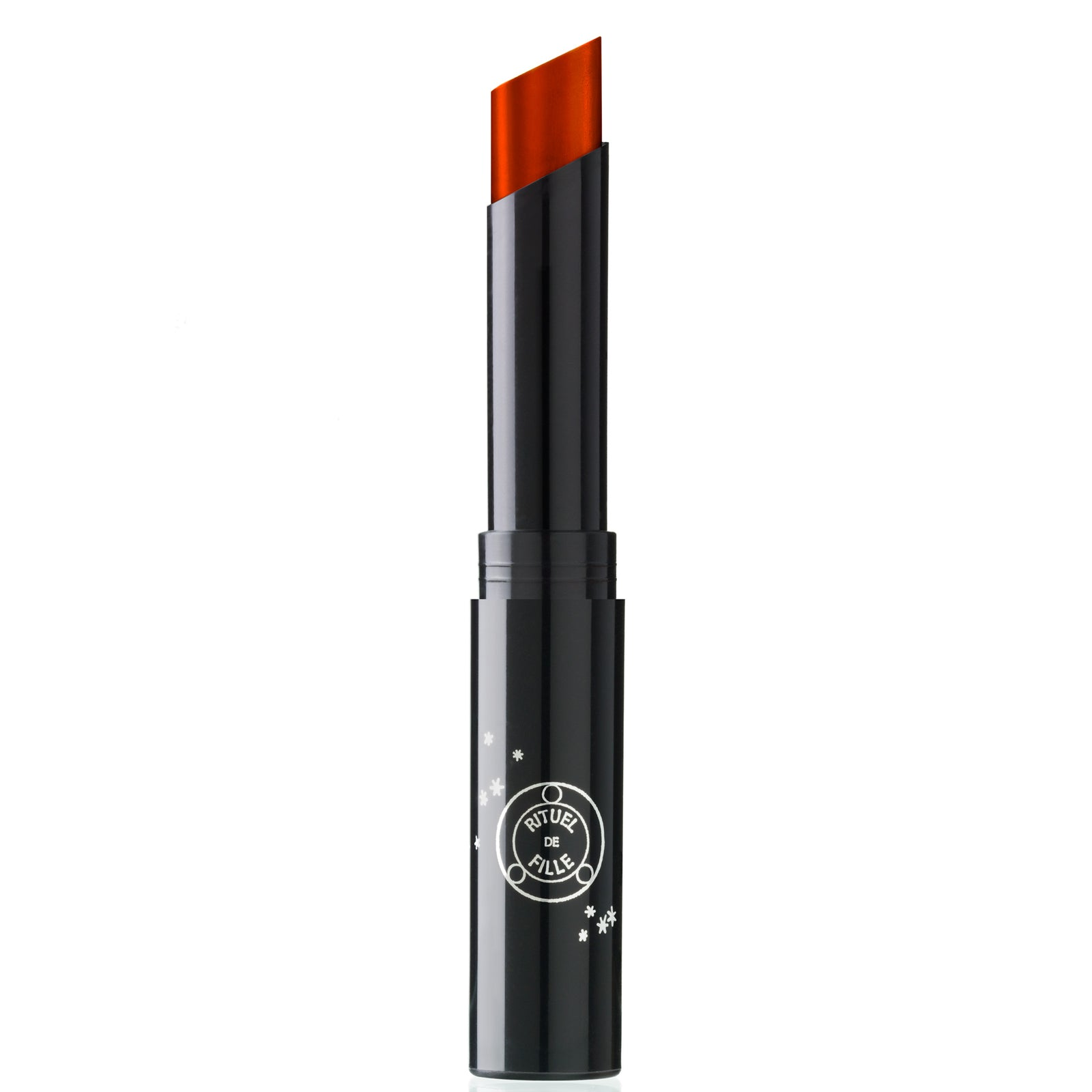 Bloodroot Enchanted Lip Sheer orange natural lipstick annatto cruelty free makeup packaging