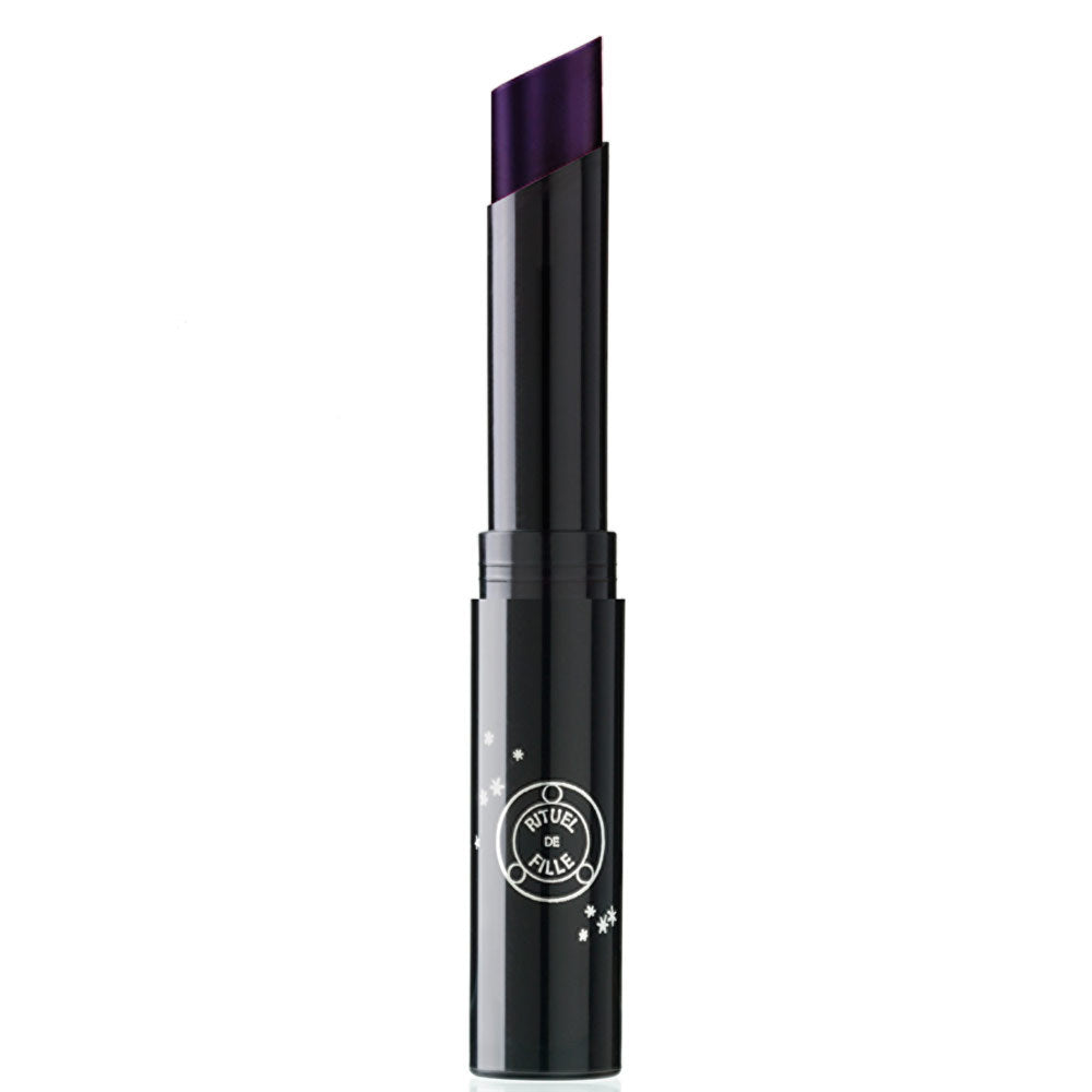 Night Wanderer natural lipstick purple cruelty free