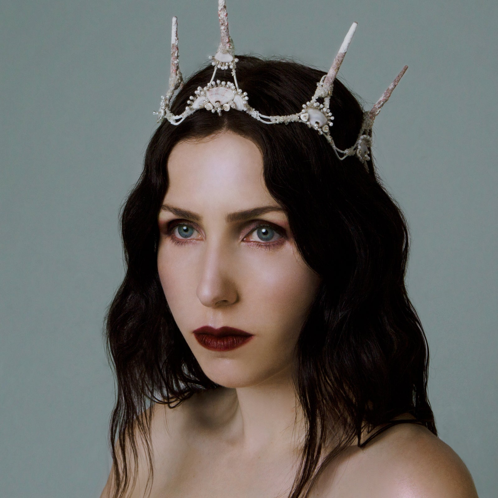Chelsea Wolfe collaboration makeup Swarm natural red lipstick cruelty free