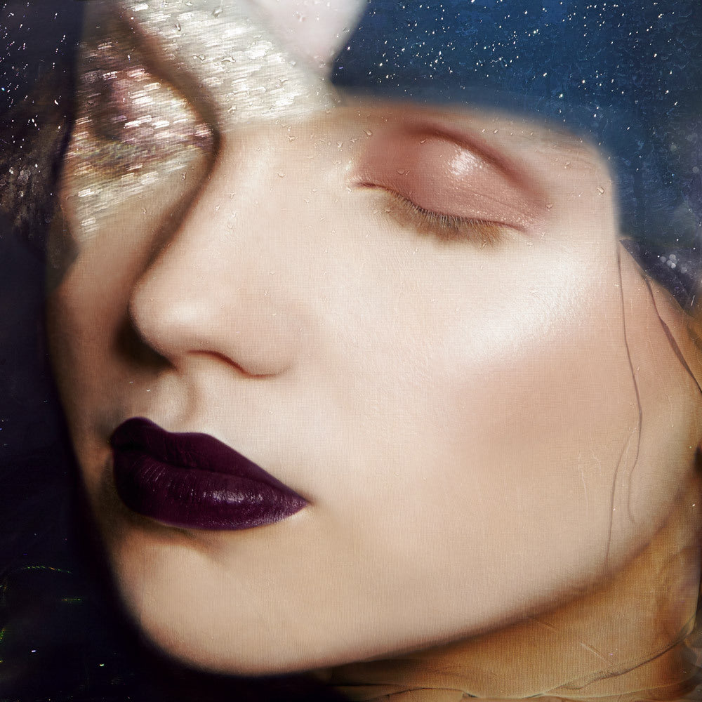 Night Visions: Night Wanderer Forbidden Lipstick and Sigil Ash and Ember Eye Soot natural makeup