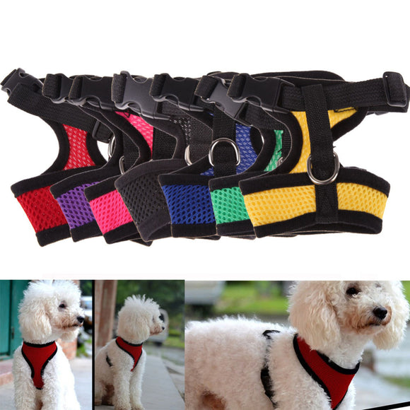 Adjustable Comfort Soft Breathable Dog Harness Pet Vest - Yogi4you