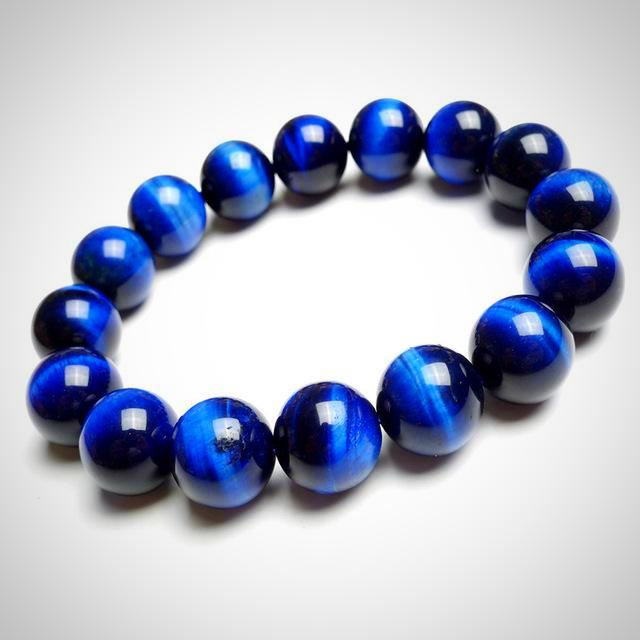 Blue Eagle Eye (Tiger Eye) A Powerful Natural Stone Bracelet - Daanias