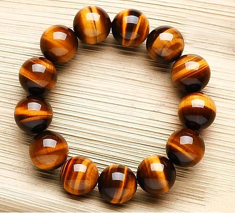 Natural Tiger Eye Gem Beads,The Embodiment of Power and Courage - Daanias