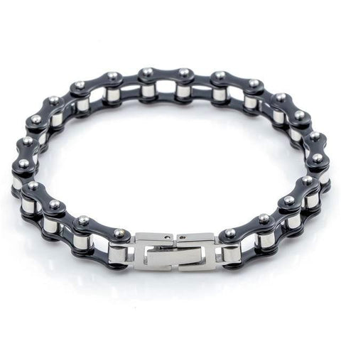 Dandy Men's Bike Chain Bracelet - Multi Color - Daanias