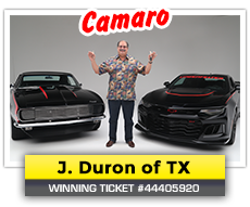 Past Winners – Muscle Car Fan - Win a Car with a Cool T-Shirt
