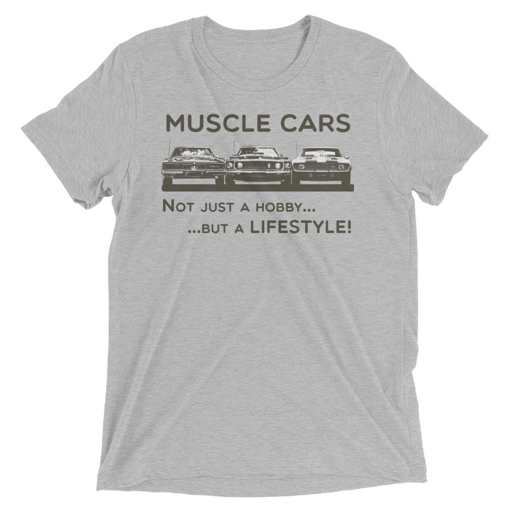 Muscle Cars - Not Just a Hobby... but a Lifestyle! (Bella Tri-Blend - 10 Tickets)
