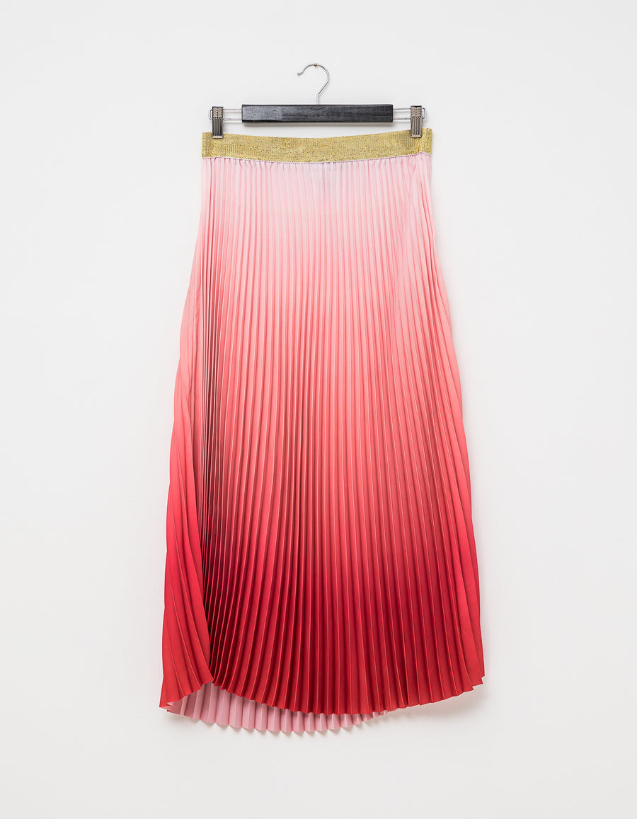 Quinn Rose/Flame Ombre Skirt