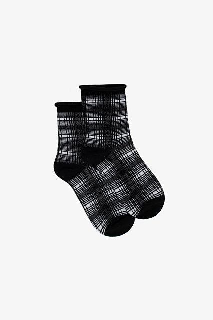 Winter Plaid Socks